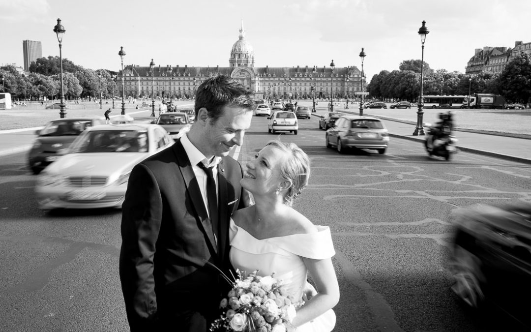 Trash the dress parisien